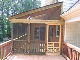 20 Complete screen porch