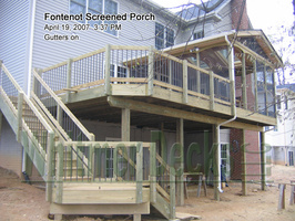 Fontenot Screened Porch