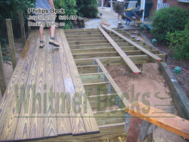 06 Decking going on