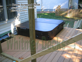 12 Hot tub in place