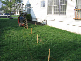 04 Footings marked