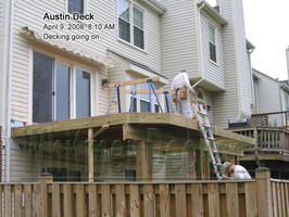 13 Decking going on