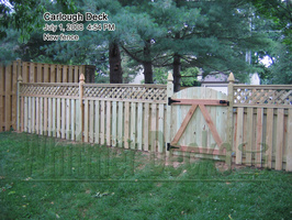 15 New fence