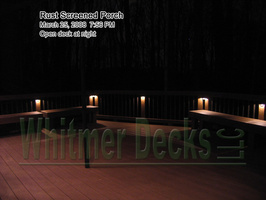 48 Open deck at night