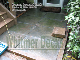 24 Flagstone patio