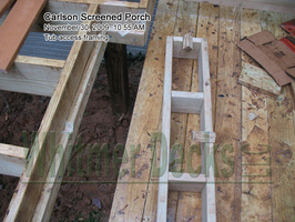 10 Tub access framing