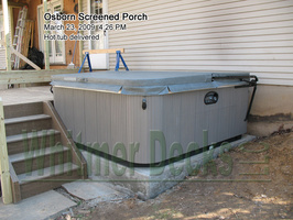 15 Hot tub delivered