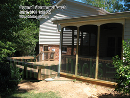 Connell Screened Porch