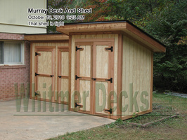 Murray Deck and Shed
