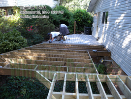 Decking first section