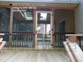 Screened door