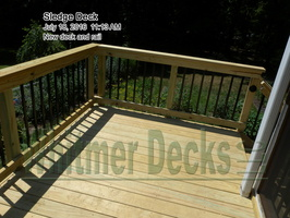 New deck and rail